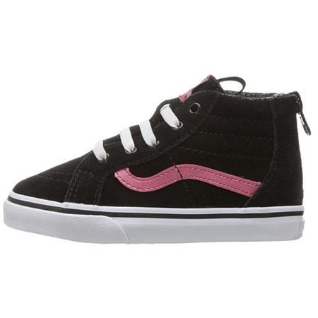 Kids Vans Sk8-Hi MTE Sneaker - Black Metallic Pink