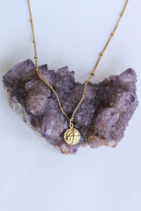 CAM Jewelry Tiny Astrology Necklace - GOLD