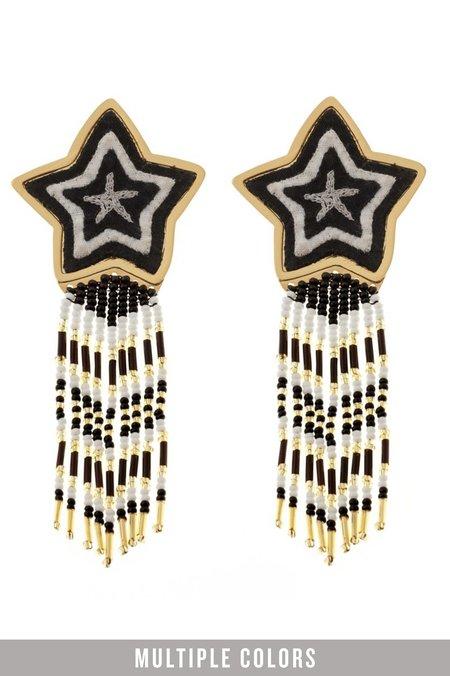 Makua Estrella Earrings - Black