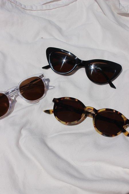 lowercase nyc Steeplechase Sunglasses - black