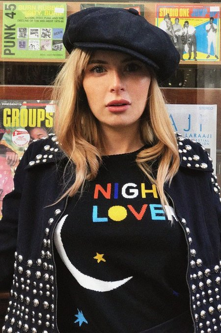 Stoned Immaculate Night Lovers Sweater - Black
