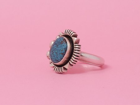 Queen City General Store Vintage Turquoise Ring