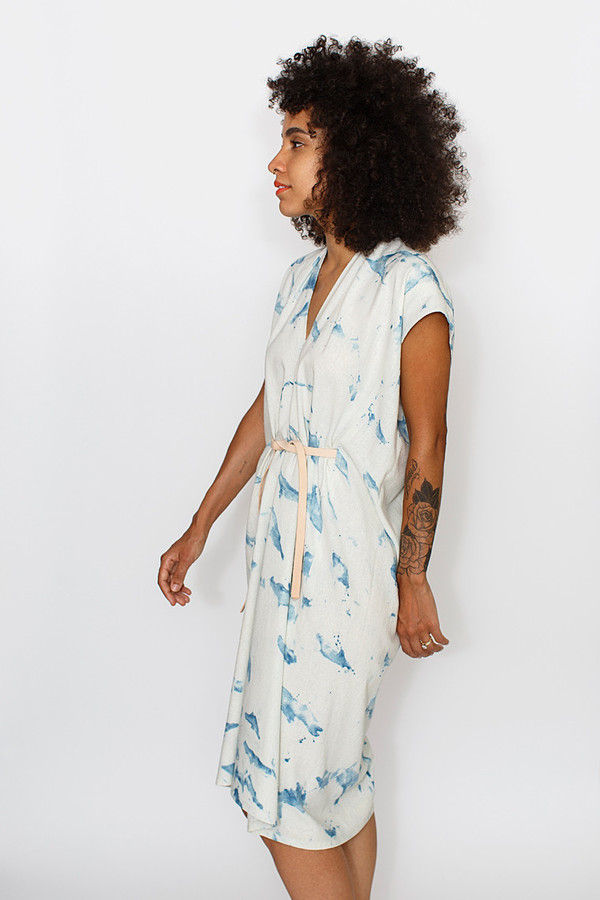 Miranda Bennett Tempest Dress | Silk Noil