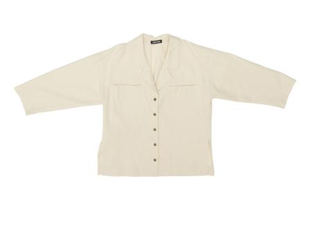 Ilana Kohn Mapes Shirt in Natural Twill