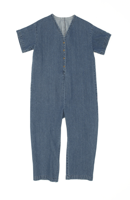 Ilana Kohn Henry Coverall in Denim