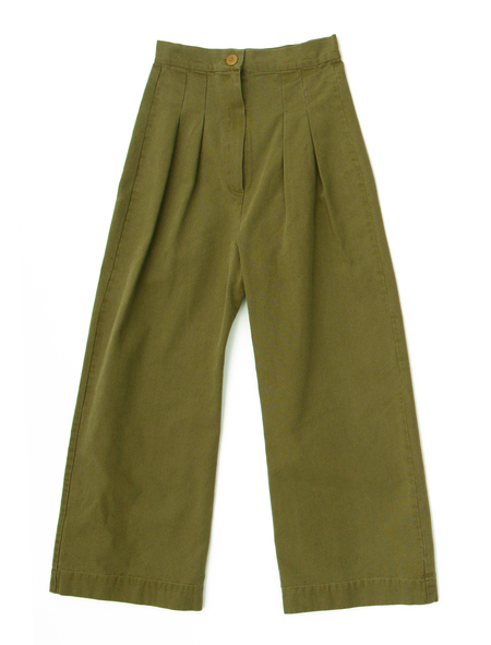 Ilana Kohn Boyd Pants in Umber Canvas