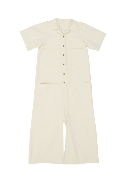 Ilana Kohn Mabel Coverall in Natural Canvas