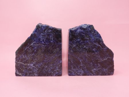 Queen City General Store Sodalite Bookends - Sodalite