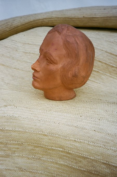 Sincerely, Tommy Vintage Coral Statue Head