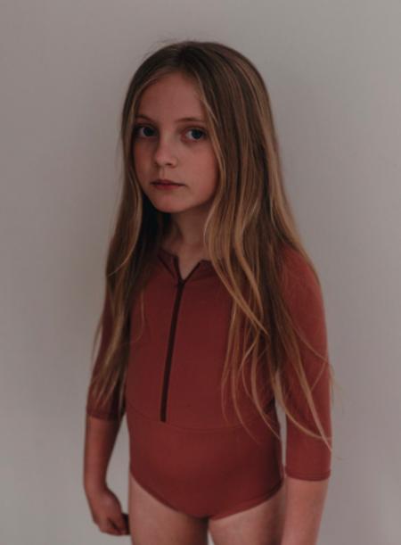 KIDS Daughter Co Tallow Swimsuit - Rose