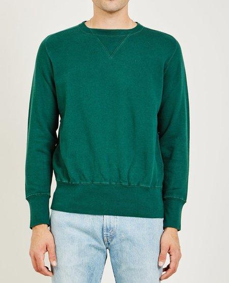 Levi's Vintage Clothing BAY MEADOWS SWEATSHIRT - BOTTLE GREEN