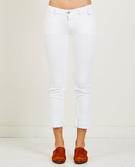 Closed STARLET JEAN - DOUBLE LAYER WHITE