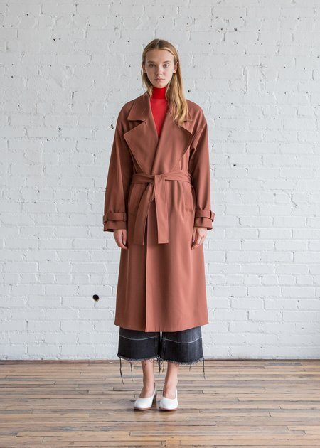 Nomia Oversize Trench - Rust