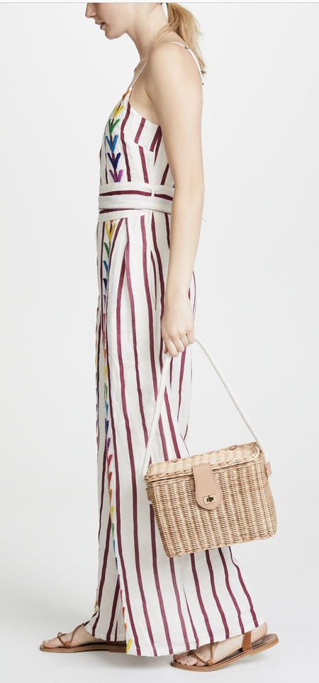 Kayu Mia Wicker Bag - NATURAL