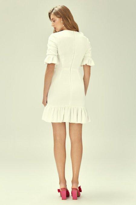 Keepsake the Label Miss Me Mini Dress - WHITE