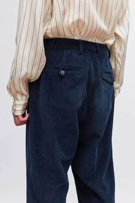 Our Legacy Chino 22 Glow Cord - Navy