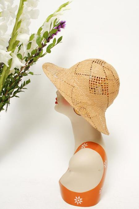 Cloak & Dagger Vintage Straw Hat