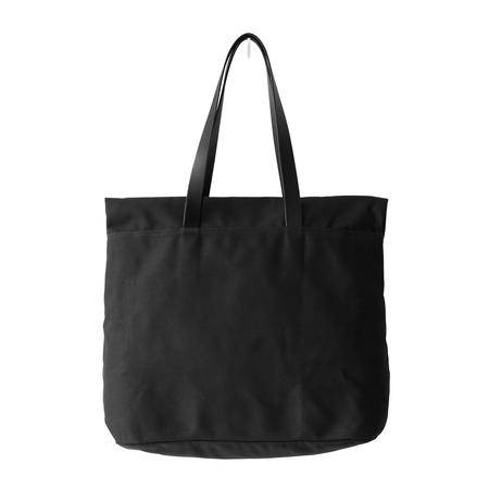 MAKR Canvas and Leather Fold Weekender Revised - Black