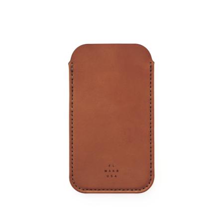 MAKR iPhone 6/7/8 Sleeve - SADDLE TAN