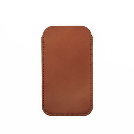 MAKR iPhone 6/7/8 with Card Sleeve - SADDLE TAN
