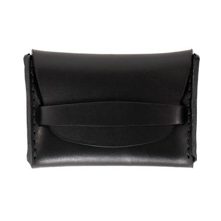 MAKR Flap Wallet - BLACK