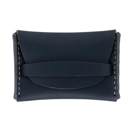 MAKR Flap Wallet - NAVY MATTE