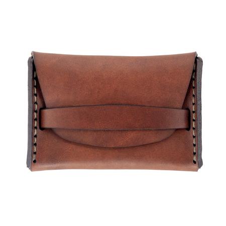 MAKR Flap Wallet - SADDLE TAN