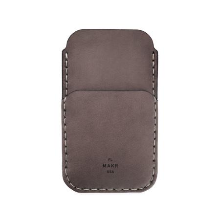 MAKR iPhone SE Card Sleeve - CHARCOAL