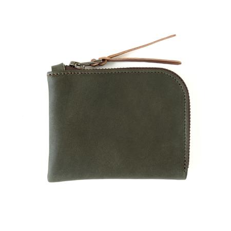 MAKR Zip Luxe Wallet - Smooth Moss