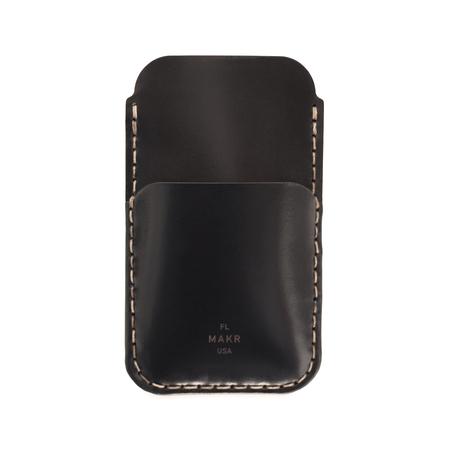 MAKR iPhone SE Card Sleeve - BLACK