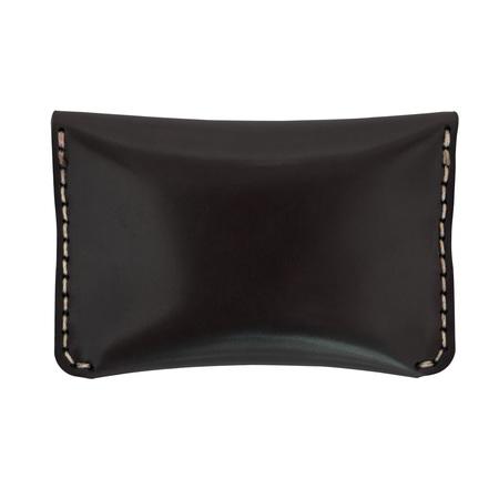 MAKR Cordovan Flap Slim Wallet
