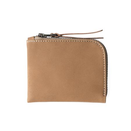 MAKR Zip Luxe Wallet - Tobacco