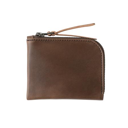 MAKR Zip Luxe Wallet - Bark
