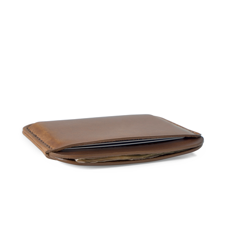 MAKR Round Luxe Wallet - FLAX