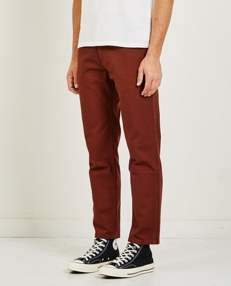 LEVI'S VINTAGE CLOTHING WHITE TAB CORDS - BITTER CHOCOLATE