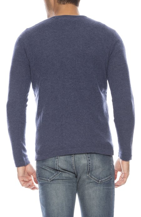 TODAY IS BEAUTIFUL x RON HERMAN Exclusive Cashmere V-neck Sweater - OVERALLS