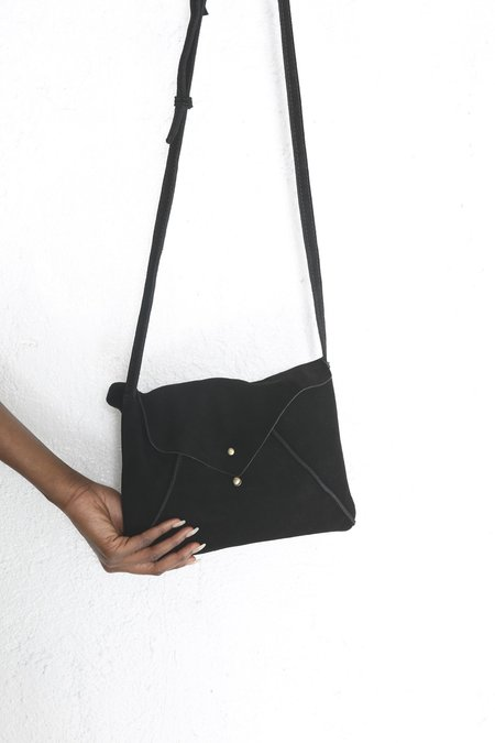 Le Market Lantern Crossbody - Black