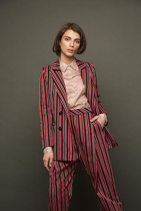 N-DUO Striped shirt