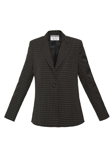 N-DUO blazer - Black