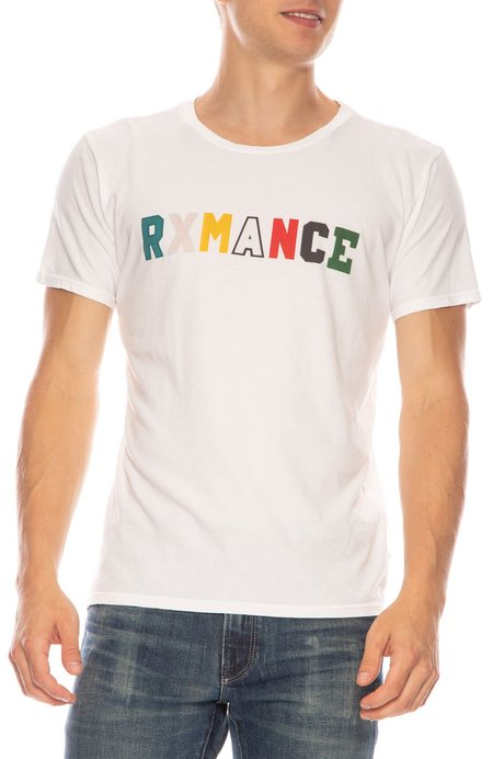Rxmance College T-shirt - WHITE