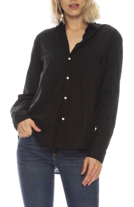 Frank & Eileen Eileen Light Poplin Shirt - BLACK