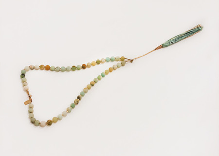 Iwona Ludyga Design Desert Tassel on Amazonite Necklace