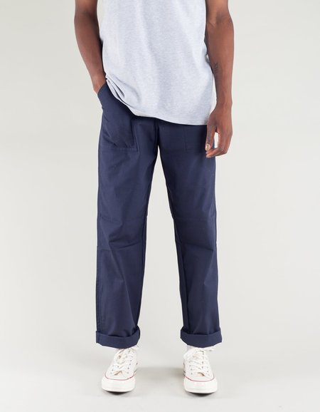 Stan Ray Taper Fit 4 Pocket Fatigue Pants - Navy Ripstop