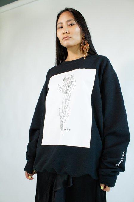 NIKA TANG Flower Sweatshirt