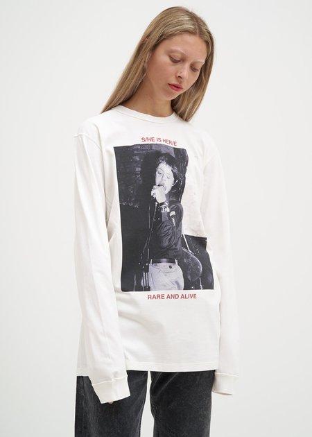 Yang Li Hero Long Sleeve T-Shirt - White