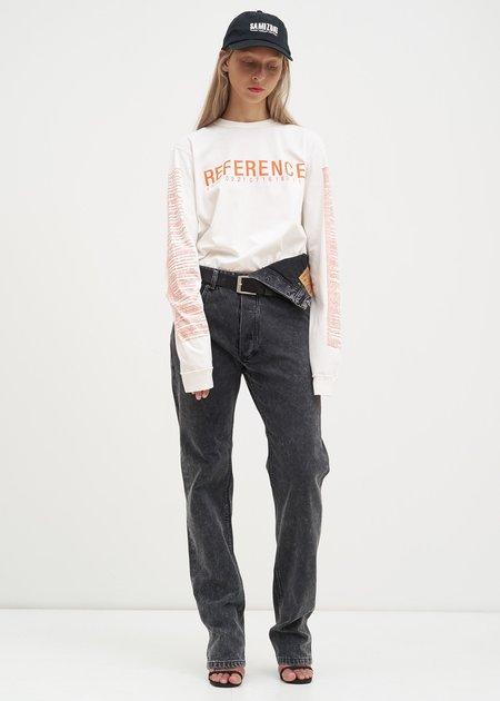 Yang Li Reference 4.0 Long Sleeve T-Shirt - White