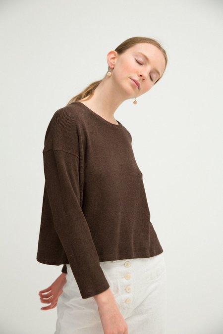 Sherie Muijs No. 19 T-Shirt - Chocolate