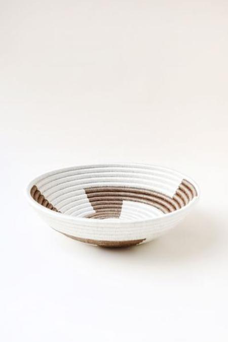 INDEGO AFRICA basket - WHITE/GOLD