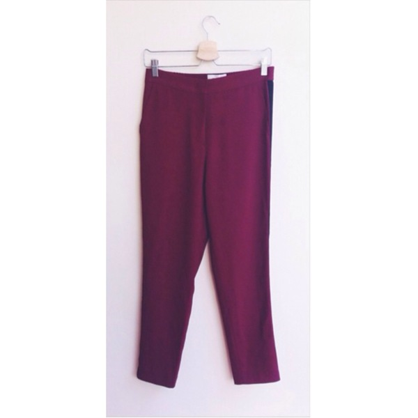 Ganni Ruby Wine Pant