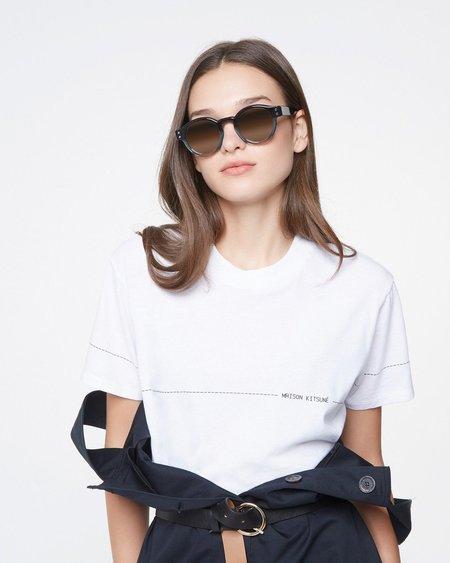 Maison Kitsune Code T-shirt - White
